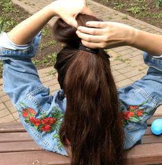 VIDEO - Massive ponytail - RealRapunzels Long Hair Ponytail, Ponytail Hairstyles, Cool Hairstyles, Real Beauty, Beauty Women, Hair Beauty, Long Hair Community, Long Hair Models, Long Hair Play