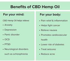 Benefits of #CBDOil
