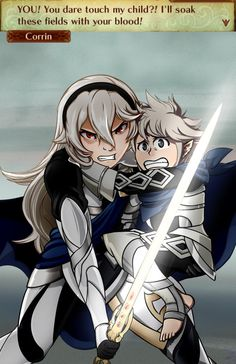 Fire Emblem Fates - Protective Corrin is best Corrin