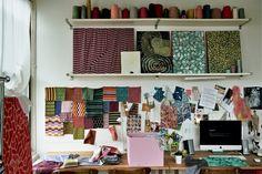 Isabel Wilson — Textile Designer, Apartment & Studio, Williamsburg, New York