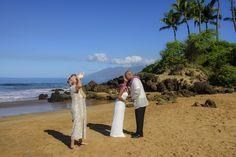 Crisp morning wedding in Maui with maui wedding planners Marry Me Maui  marrymemaui.com