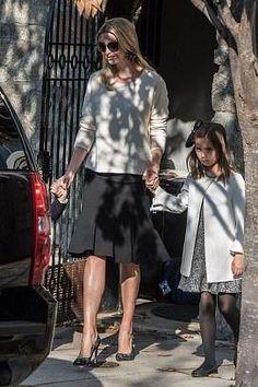 Ivanka Trump wearing Carolina Herrera Flared Skirt