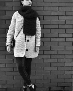 My first crochet coat and scarf composition alpaca / wool . Warm  stylish and weightless ! #vsco#vscocam#vscoua#lifestyle#streetstyle#streetfashion#kievstreetstyle#kievfashion#photooftheday#beauty#fashion#Kiev#Ukraine#fashionphotography#fashionblogger#fashioninsta#crochet#crocheting#crochetcoat#coat#black#insta_ukraina#knitting_inspiration#knitting#knit#handmade#зробленовукраїні by nastysemko