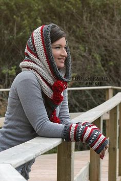 Looking for your next project? You're going to love Dylan Hooded Cowl (Scoodie) by designer SincerelyPam.