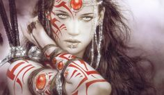 Wallpapers Female Warriors Realistic Aztec Warrior And Princess ...