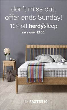 Our 10% Herdysleep mattress sale ENDS THIS SUNDAY! Grab a baaa-gain and support Lakeland farmers! 😍 Ways To Sleep, Farmers, Gain, Mattress, Toddler Bed, Sunday, Furniture, Home Decor, Child Bed