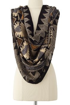 Sahara Infinity Scarf from Soft Surroundings