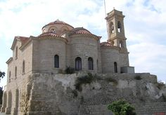 Cyprus Pafos Theoskepasti Church