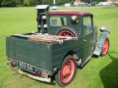 1930s Austin Seven Ruby Pickup Special by Austin7nut, via Flickr