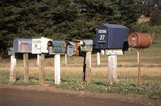 Aussie letterboxes.