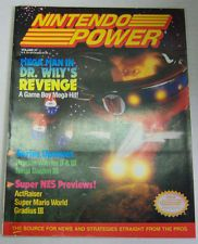 Nintendo Power Magazine Mega Man In Dr. Wily's Revenge, Super NES Vol 27 030113R 10-20