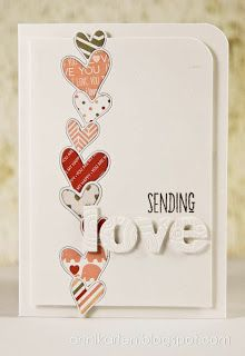 memory box twirled heart border