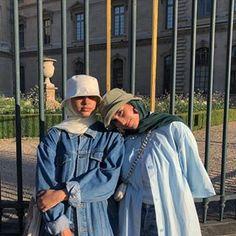 Hajib Fashion, Modern Hijab Fashion, Street Hijab Fashion, Modesty Fashion, Modest Fashion Hijab, Casual Hijab Outfit, Hijab Fashion Inspiration, Muslim Fashion, Hijab Dress
