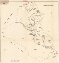 Iraq Map, Location Map, The Old Days, Maps, Old Things, Culture, Blue Prints, Map, Cards