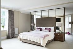 Modern bespoke bedroom