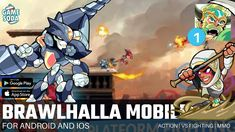 Brawlhalla Mobile | Gameplay for Android and iOS | Day 1: Let's Start - YouTube Free Mobile Games, Game 1, Ios, Android, Let It Be, Youtube, Youtubers, Youtube Movies