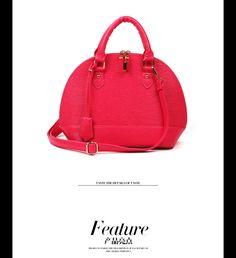 fashion bag women handbag new 2013 waterproof shell bag classical women bags candy color high quality women LEATHER BAG-inMessenger Bags fro...