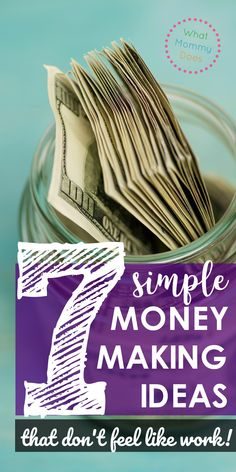 This is an awesome list of ways to make money that don't really feel like work because they are simple concepts & can be done 100% online! I needed a way to make money while my kids were in school, so these work great for my schedule. Work at home opps can be fun…this list is proof of that! | quick money making ideas, work at home tips for moms, things to sell for extra cash, awesome business to run