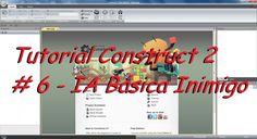 Tutorial Construct 2 #Parte 6 - IA Básica inimigo