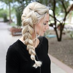 WEBSTA @ beyondtheponytail - Love this Side PULL THROUGH BRAID by this lovely…