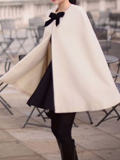 winter capes are a classic
