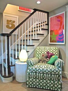 home interior home design book basement Hm Deco, Basement Staircase, Wood Stairs, Home Interior, Interior Design, Interior Decorating, Halls, Basement Inspiration, Ideas Hogar
