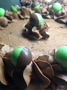 Buttercream Cake, Stuffed Mushrooms, Eggs, Cakes, Vegetables, Breakfast, Food, Buttercream Ruffles, Stuff Mushrooms