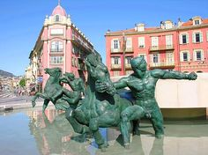 Place Massena à Nice