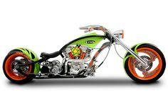 Orange County Choppers - #OCC - Go Daddy Bike