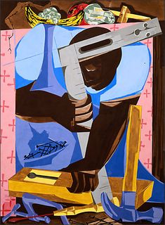 Poets honor &#39-migration&#39- paintings of Jacob Lawrence