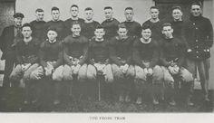 1917 UO freshmen football team.  From the 1918 Oregana (UO yearbook).  www.CampusAttic.com