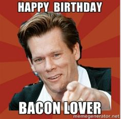 Happy Birthday Card Kevin Bacon