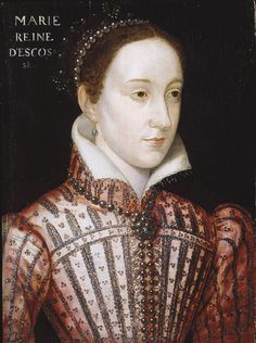 Mary Queen of Scots, c1565, portrait by a follower of Clouet.
