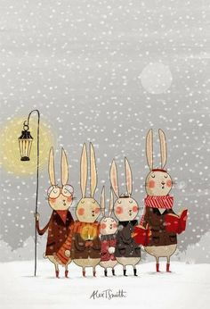 Pinzellades al món: Cantant Nadales: il·lustracions / Cantando villancicos: ilustraciones / Singing carols: Artwork