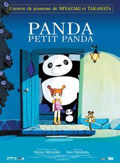 Panda Petit Panda (1972)  Hayao Miyazaki et Isao Takahata  (pré-Ghibli) #Ghibli