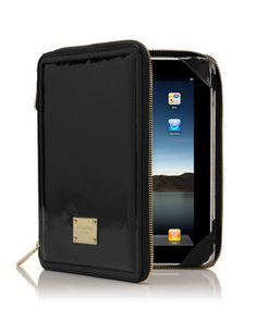 MICHAEL Michael Kors Jet Set iPad Case, Black.