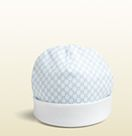 baby cotton GG pattern hat