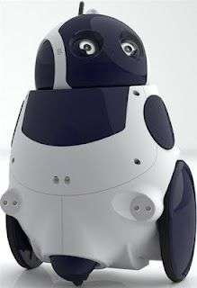 3D Scanning the environment is increasingly being used by developers to enable robots.  Now Q.bo, the cute little robot that recognized himself in a mirror, has joined the fold.