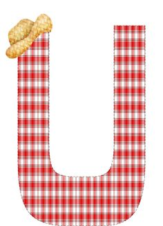 CH.B *✿* Different Fonts, Farm Party, Alphabet And Numbers, Plaid Pattern, Free Printables, Crafts, Gabriel, Ranch, Picnic