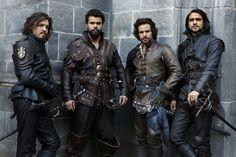 The Musketeers - Season 3 - Porthos, Aramis, Athos & D'Artagnan