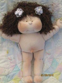 Soft Cloth doll Handmade baby Doll Soft by madalinacatalina