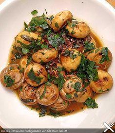 Knoblauch-Champignons, ein schmackhaftes Rezept aus der Kategorie Snacks und kleine Gerichte. Bewertungen: 4. Durchschnitt: Ø 3,8.