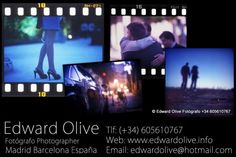 Fotografo de boda Madrid Edward Olive fotos para bodas