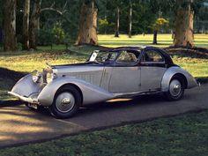 1934 Hispano-Suiza K6 Sedanca Coupe