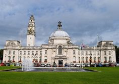 Cardiff City Hall, #Cardiff, South Glamoran, #Wales