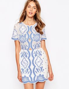 Image 1 of Alice McCall All About You Dress in Periwinkle