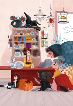 Chez Mixetout Comme, Fairy Tales, Disney Characters, Fictional Characters, Inspiration, Art, Illustrator, Whale, Biblical Inspiration