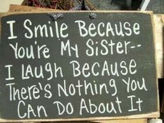 SISTER'S QOUTE