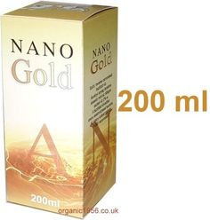 Gold NANO colloid, consumed on a daily basis for 3-4 months might improve IQ by even 20%