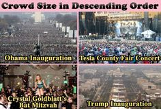 Funniest Donald Trump Inauguration Memes: Crowd Sizes